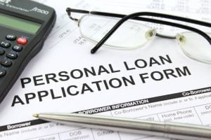 personal loan application process form